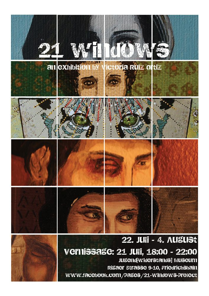 21 windows Poster--Small